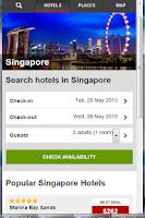 Screenshot of Hotels Singapore
