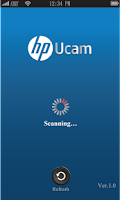 Screenshot of HP Ucam