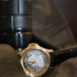 watch man by Talitha Watson - Artistic Objects Jewelry
