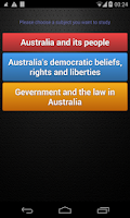 Screenshot of Australian Citizenship Pro