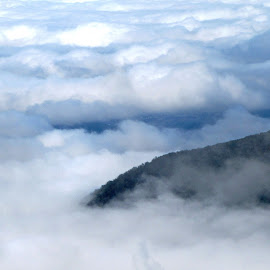 Above the Clouds by Teresa Daines - Landscapes Weather