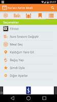 Screenshot of Ayet Bul - Kuran-ı Kerim Meali