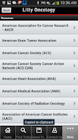 Screenshot of Lilly Oncology CT Resource