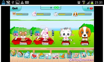 Screenshot of Jogos de Gatos