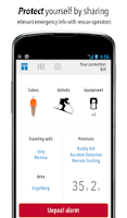 Screenshot of Uepaa! - Alpine safety