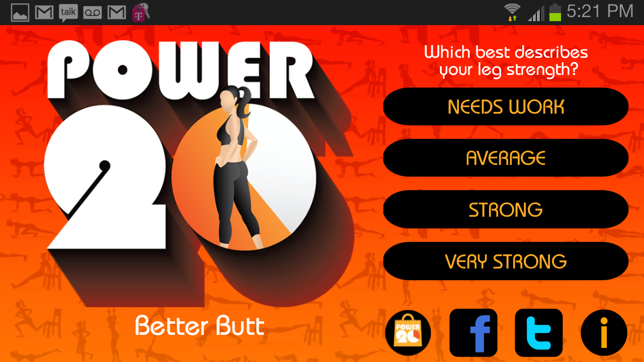 20 Minute Butt Workouts Screenshot 12