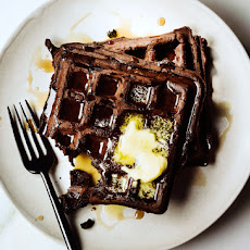 Dark Chocolate Waffles