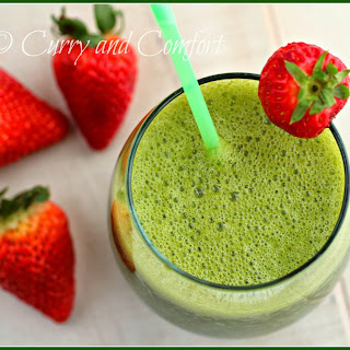 Kale Strawberry Orange Smoothie - Kale Week