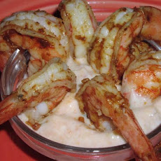 Shrimp With Taco Tartar Sauce