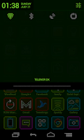 Screenshot of LEDed - a CM9 / CM10 Theme