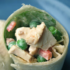 Southwest Chicken Salad Wraps
