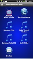 Screenshot of Cameroon Radio FREE