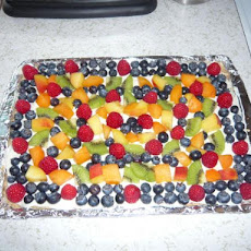 Low-Fat Fruit Pizza