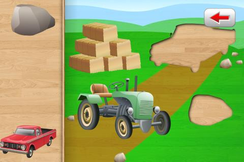 Car Puzzle for Toddlers