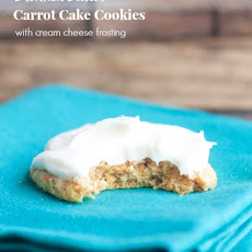 Browned Butter Carrot Cake Cookies