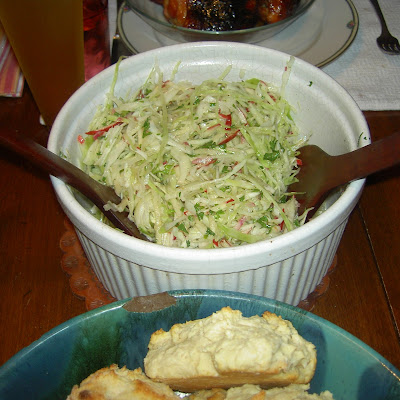 Apple Cabbage Salad