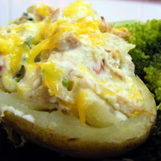 Tuna Stuffed Potatoes