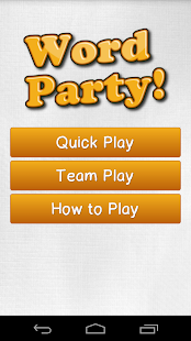 Word Party - screenshot