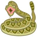 Rattlesnake gratuit icon