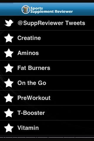 Sports Supplement Reviewer App