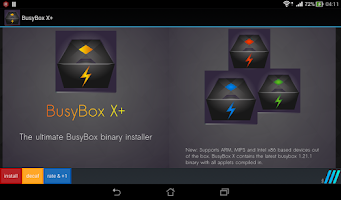 Screenshot of BusyBox X+