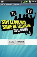 Screenshot of Soy el que más sabe de TV Free