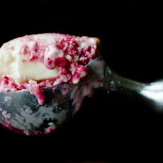 Cranberry Goat Cheese Ice Cream