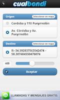 Screenshot of Cualbondi