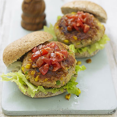 Tuna Sweetcorn Burgers