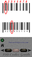 Screenshot of 100 Codes Guide