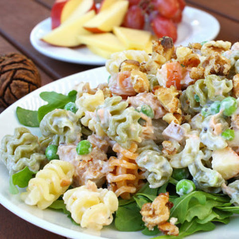 Pasta Salad with Salmon