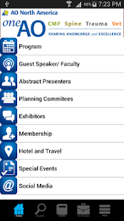 One AO Multispecialty Meeting - screenshot