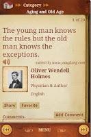 Screenshot of Brilliant Quotes