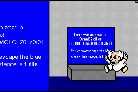 Megaman MSPaint Masterpieces