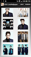 Screenshot of VIXX Live Wallpaper