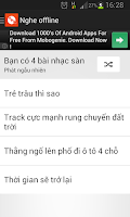 Screenshot of Nhac Remix - Nhac San Cuc Manh
