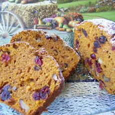 Orange-Cranberry-Date Pumpkin Cake