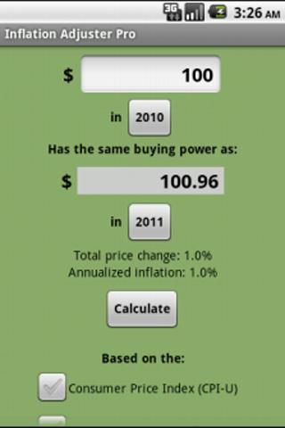 Inflation Adjuster Pro