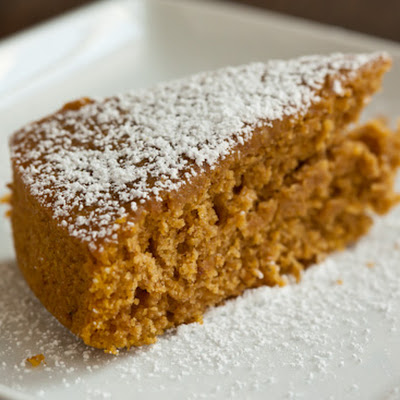 Pumpkin-Maple Sourdough Cake