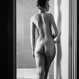 Housework Can Be Fun by Roman Cesare - Nudes & Boudoir Artistic Nude ( nude, black and white,  )