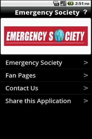 Emergency Society