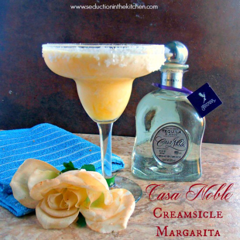 Casa Noble Creamsicle Margarita #TequilaDay