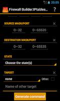 Screenshot of Firewall Rules Builder