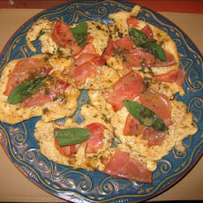 Chicken With Asiago, Prosciutto, and Sage
