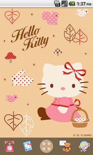 Hello Kitty Antique Theme
