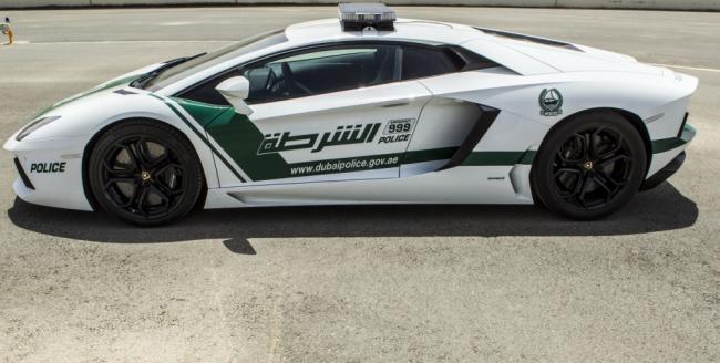 Lamborghini Aventador Police Car- Dubai police