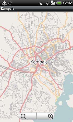 Kampala Street Map