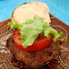 Taco Burgers With Chipotle Mayonnaise
