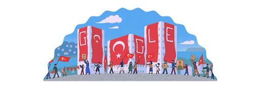 Google Doodle Republic Day Turkey 2013