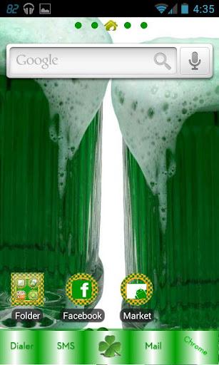 St. Patrick Theme go launcher